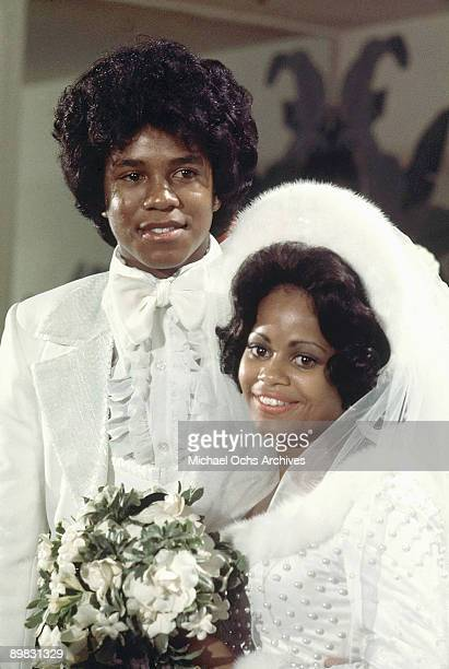 American singer Jermaine Jackson marries Hazel Gordy the daughter of Motown founder Berry Gordy in Hollywood 15th December 1973