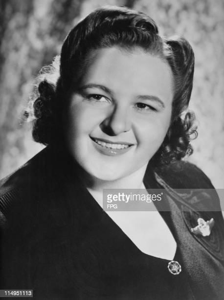 American singer Kate Smith circa 1940