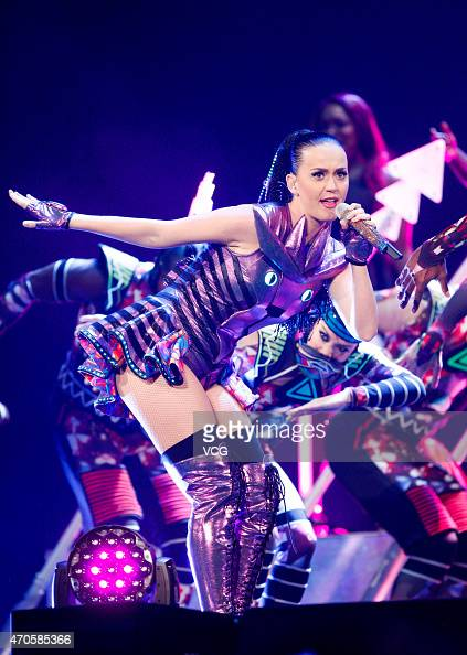 "Katy Perry Holds ""Prismatic"" World Tour Concert In ..."