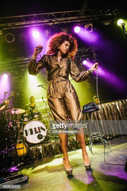 American singer Kelis performs live on stage during a concert at CClub on August 21 2014 in Berlin Germany