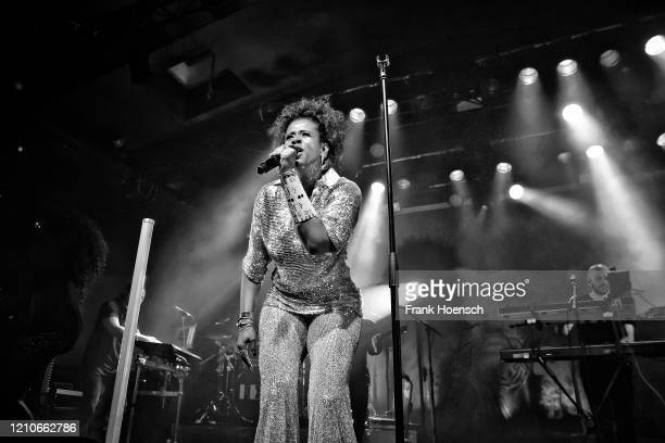 American singer Kelis Rogers aka Kelis performs live on stage during a concert at the Astra on March 5, 2020 in Berlin, Germany.