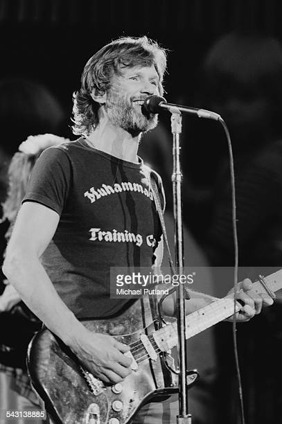 American singer Kris Kristofferson performing at 'The Music for UNICEF Concert A Gift of Song' benefit concert held at the United Nations General...