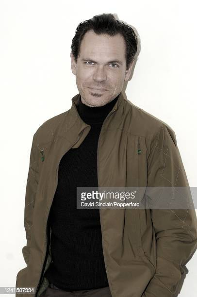 American singer Kurt Elling posed backstage at the Barbican in London on 25th October 2007