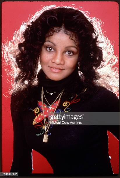 American singer La Toya Jackson in Los Angeles California 7th July 1978 A photoshoot for 'Right On' magazine