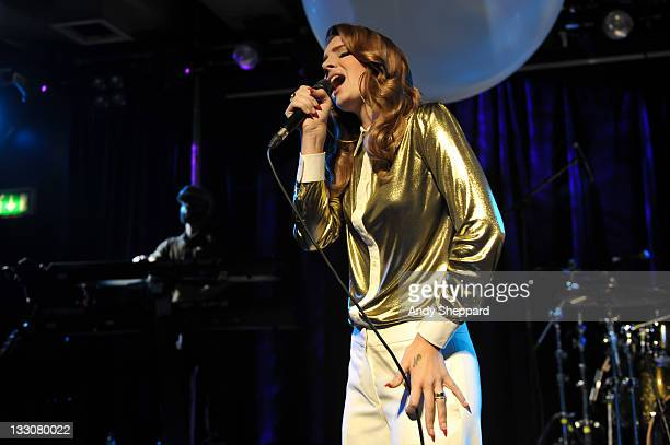 American singer Lana Del Rey performs on stage at Scala on November 16 2011 in London United Kingdom
