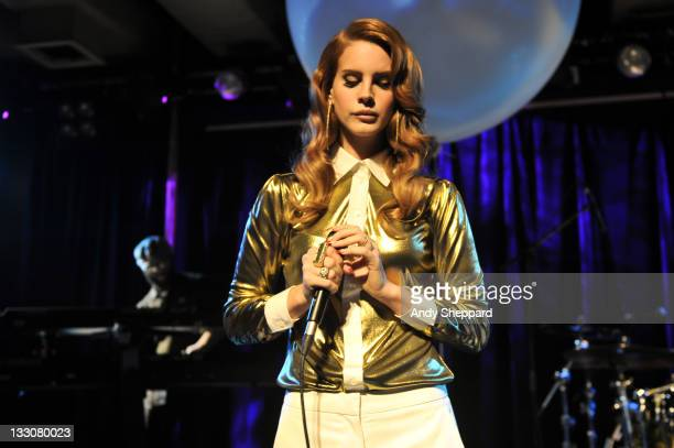 American singer Lana Del Rey performs on stage at Scala on November 16, 2011 in London, United Kingdom.