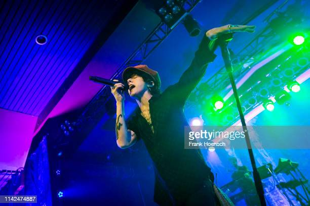 American singer Laura Pergolizzi aka LP performs live on stage during a concert at the Astra on May 9, 2019 in Berlin, Germany.
