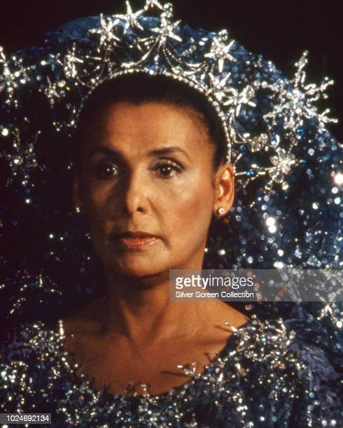 American singer Lena Horne as Glinda the Good in the film adaptation of the musical 'The Wiz' 1978