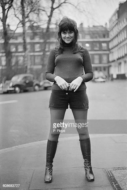 American singer Linda Ronstadt in London UK 26th January 1971