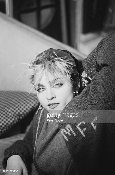 American singer Madonna in a loft on Canal Street, New York City, December 1982.