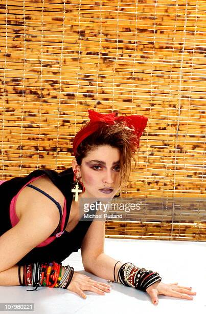American singer Madonna in New York 1984
