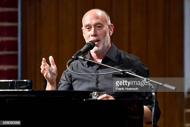 American Singer Marc Cohn Performs Live During A Concert At The Passionskirche On June 9 2016