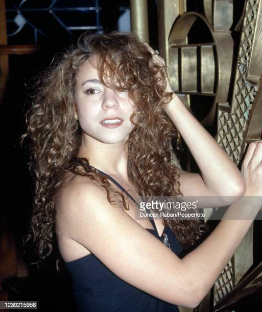 American singer Mariah Carey, circa 1994.