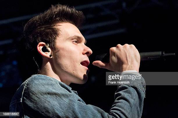 American singer Matthew Koma performs live in support of Ellie Goulding during a concert at the Postbahnhof on May 15, 2013 in Berlin, Germany.