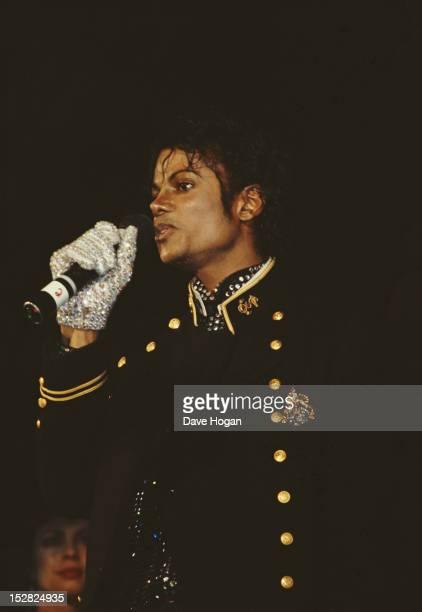 American singer Michael Jackson 1984