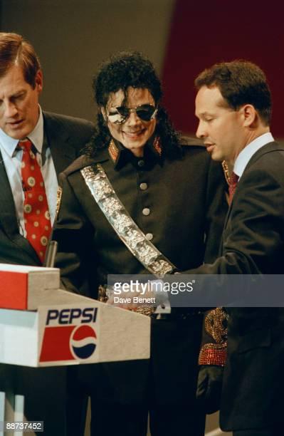 American singer Michael Jackson at Heathrow 23rd June 1992