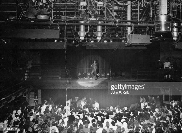 American singer Michael Jackson performs at Studio 54 in New York City circa 1975