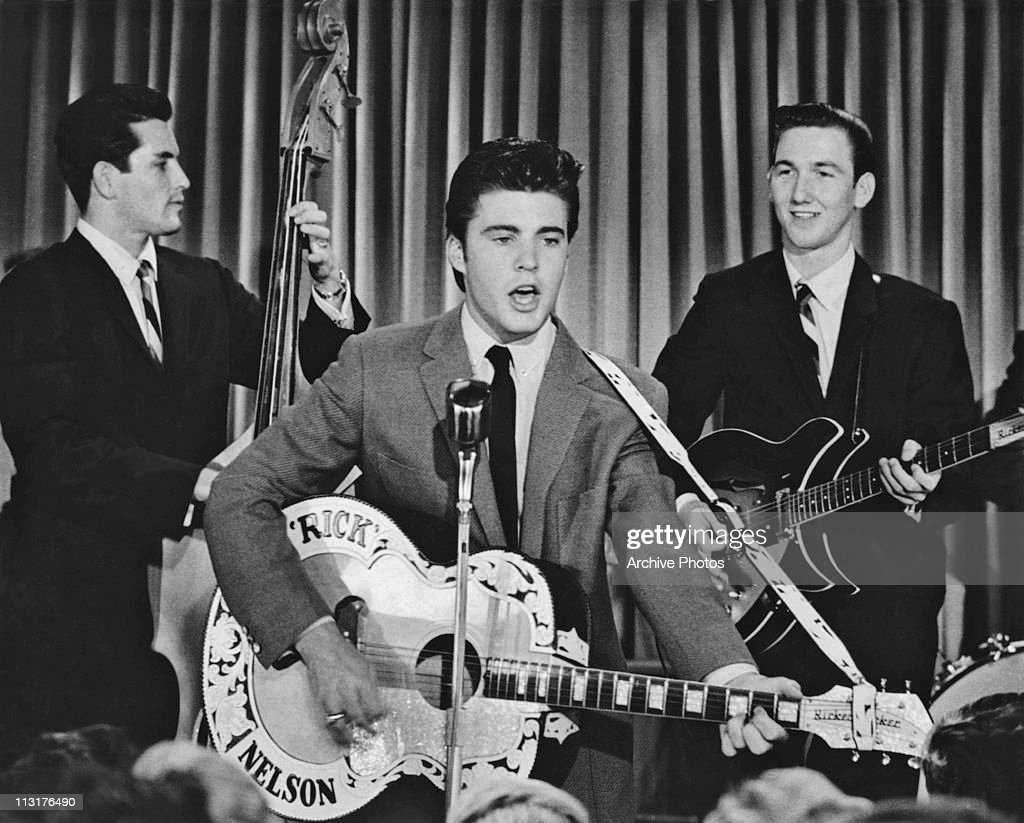 Ricky Nelson Performing : News Photo