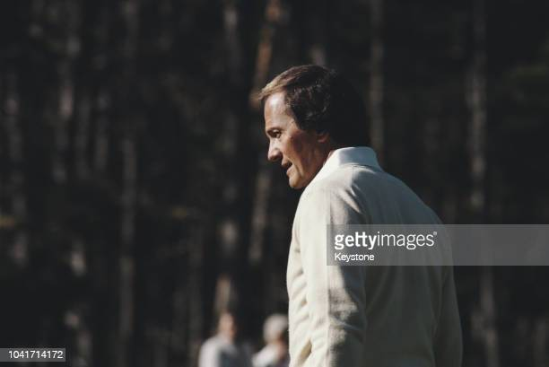 American singer Pat Boone, circa 1980.