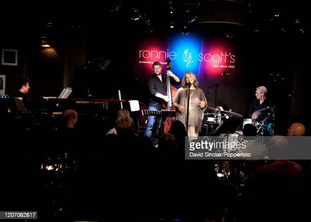 American singer Patti Austin performs live on stage at Ronnie Scott's Jazz Club in Soho London on 13th September 2013