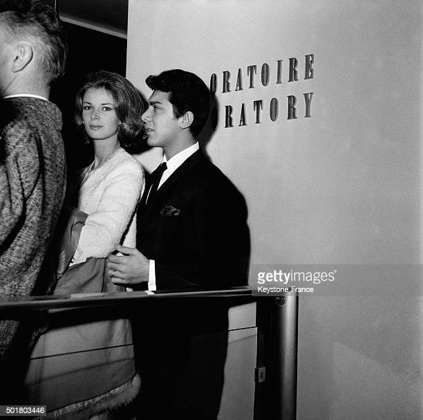 American Singer Paul Anka s Wedding With Anne De Zogheb At Paris' 16th Arrondissement Town Hall in Paris France on February 16 1963