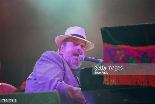 American singer, pianist and musician Dr John performs live on stage in London in July 1994.