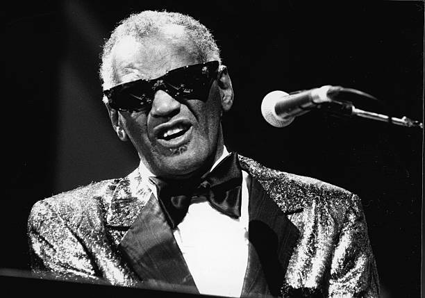 Ray Charles Performs In Concert