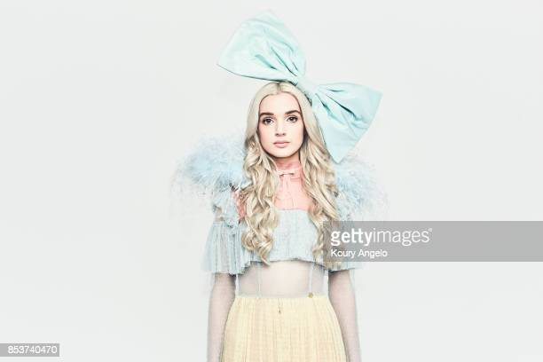 American singer Poppy is photographed for Mad Decent on April 28 2017 in Los Angeles California