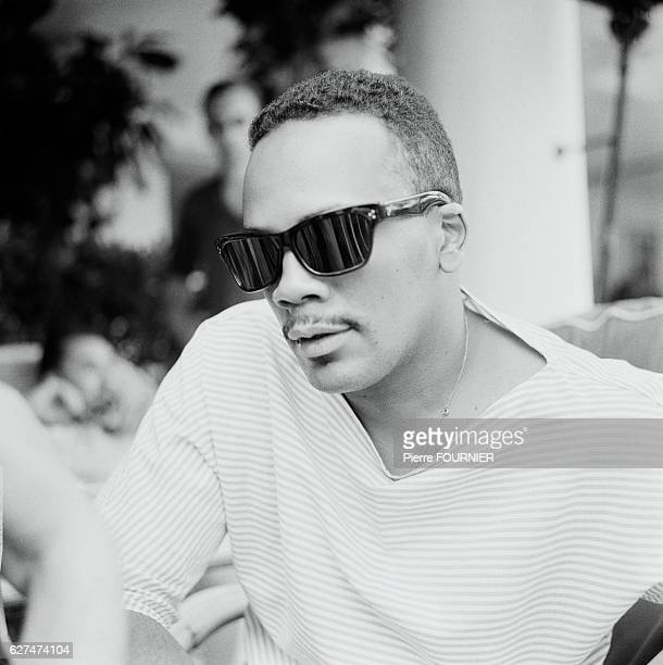 American singer Quincy Jones at the Antibes Jazz Festival 1st July 1969