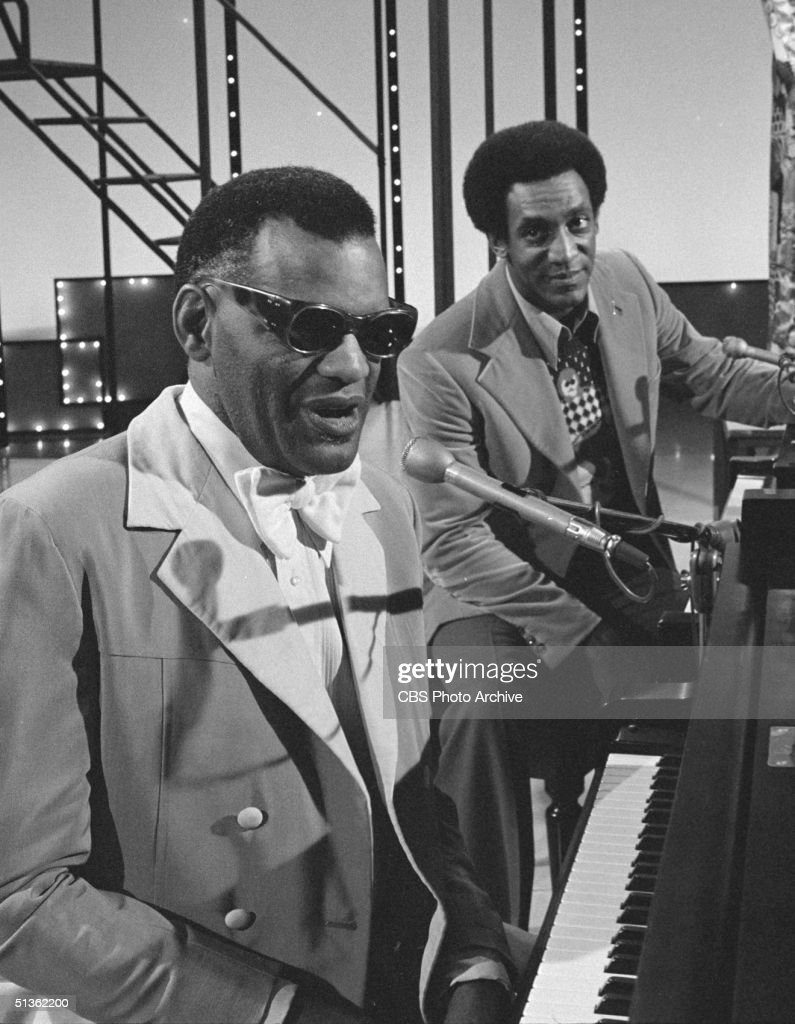 Ray Charles On 'The New Bill Cosby Show' : News Photo