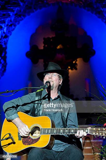 American singer Roger McGuinn performs live during a concert at the Passionskirche on September 15 2014 in Berlin Germany