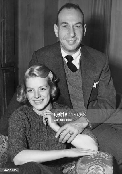 American singer Rosemary Clooney with her husband actor José Ferrer circa 1955