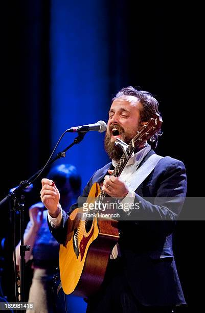 American singer Sam Beam with his project Iron And Wine performs live during a concert at the Admiralspalast on June 5 2013 in Berlin Germany