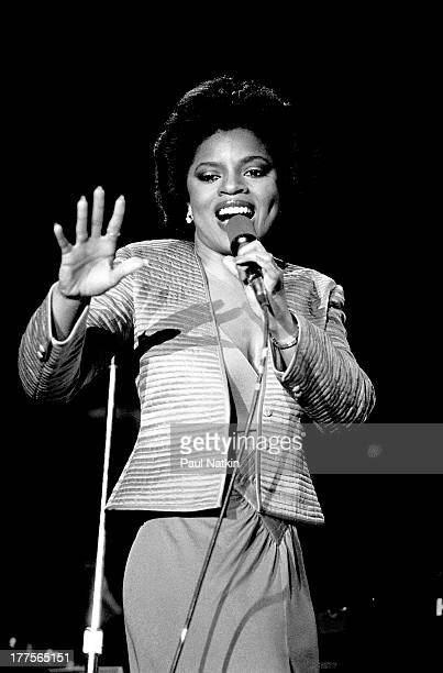 American singer Sarah Dash performs on stage at the Park West Theater Chicago Illinois March 6 1979