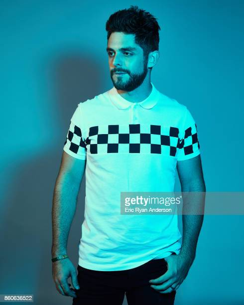 American singer song writer Thomas Rhett is photographed at the 2017 CMA Festival for Billboard Magazine on June 8 2017 in Nashville Tennessee