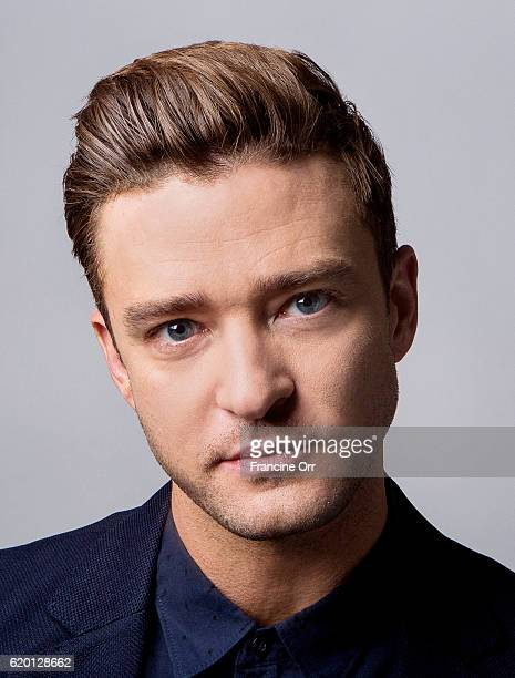 American singer songwriter actor and record producer Justin Timberlake is photographed for Los Angeles Times on October 22 2016 in Los Angeles...