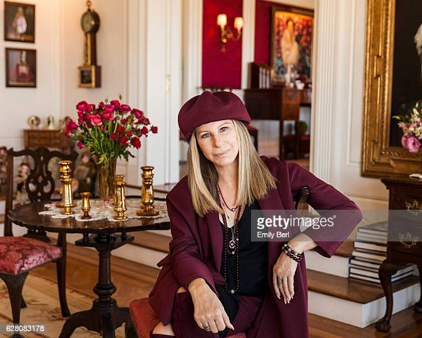American singer songwriter actress and filmmaker Barbra Streisand is photographed for New York Times on July 19 2016 at home in Malibu California