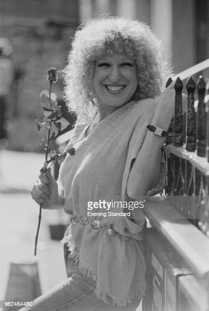 American singer songwriter actress comedian and film producer Bette Midler UK 19th September 1978