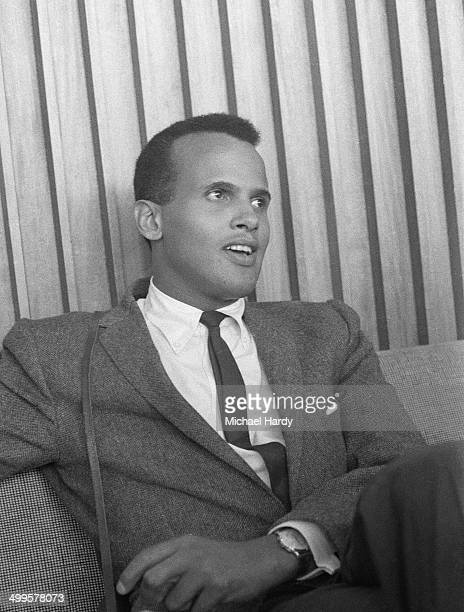 American singer songwriter and actor Harry Belafonte 30th July 1958
