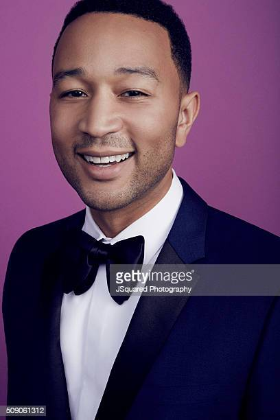 American singer songwriter and actor John Legend poses for a portrait during the 47th NAACP Image Awards presented by TV One at Pasadena Civic...
