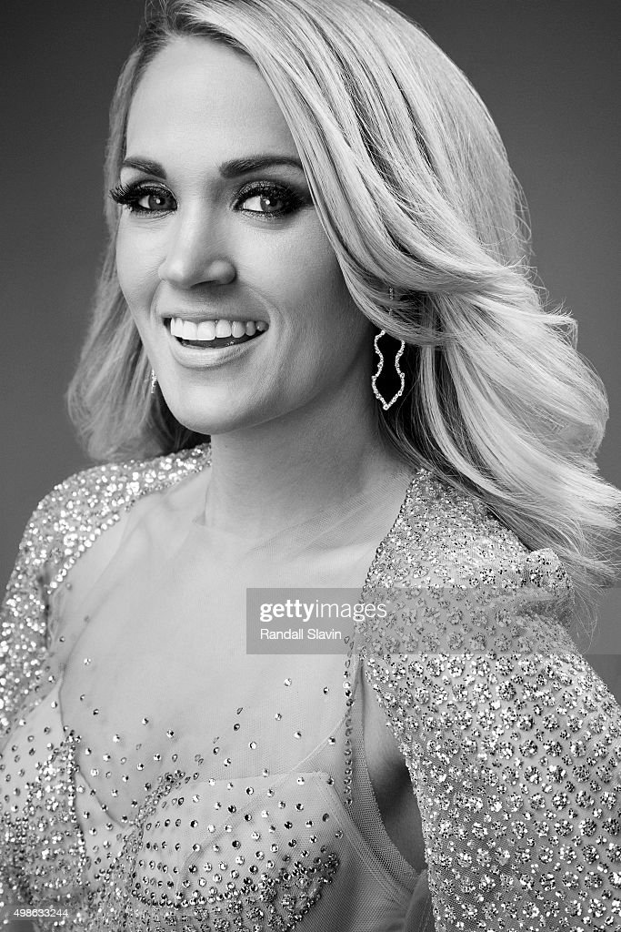 American singer, songwriter and actress Carrie Underwood poses for a portrait at the 2015 American Music Awards on November 22, 2015 in Los Angeles, California.