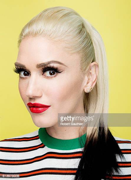 American singer songwriter and fashion designer Gwen Stefani is photographed for Los Angeles Times on September 22 2016 in Los Angeles California...