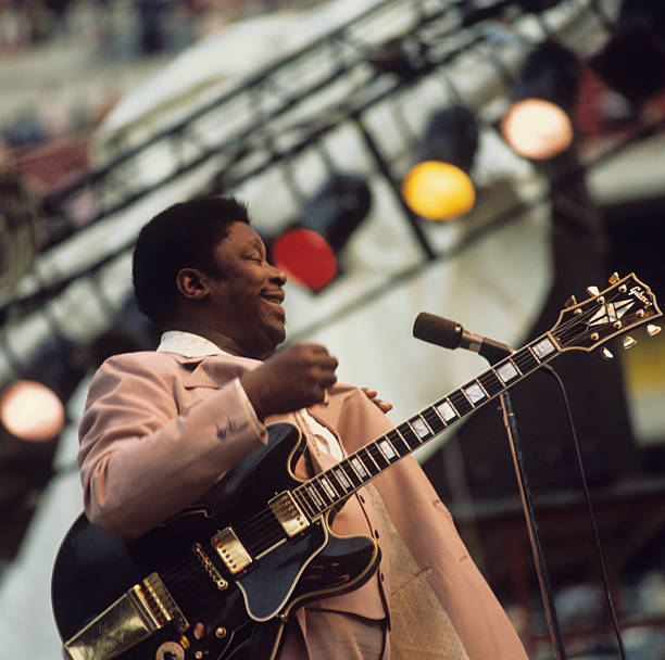 B.B. King Performs On Stage