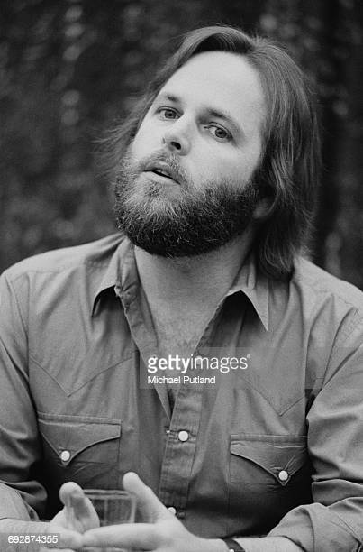 American singer, songwriter and guitarist Carl Wilson of The Beach Boys, Oslo, Norway, 1982.
