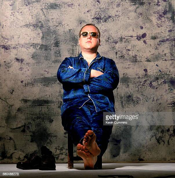 American singer songwriter and musician Black Francis formerly frontman of the Pixies at the start of his solo career as Frank Black circa 1993