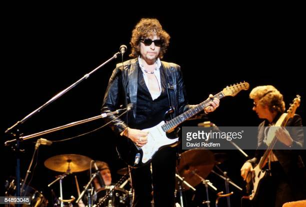AERODROME Photo of Bob DYLAN Bob Dylan performing on stage sunglasses