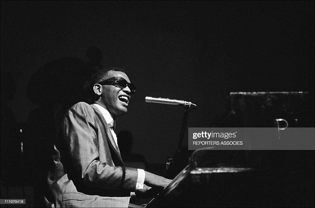 Ray Charles At The Olympia : ニュース写真