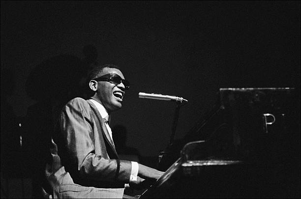 Ray charles behind the scence at the olympia in paris france on may 18