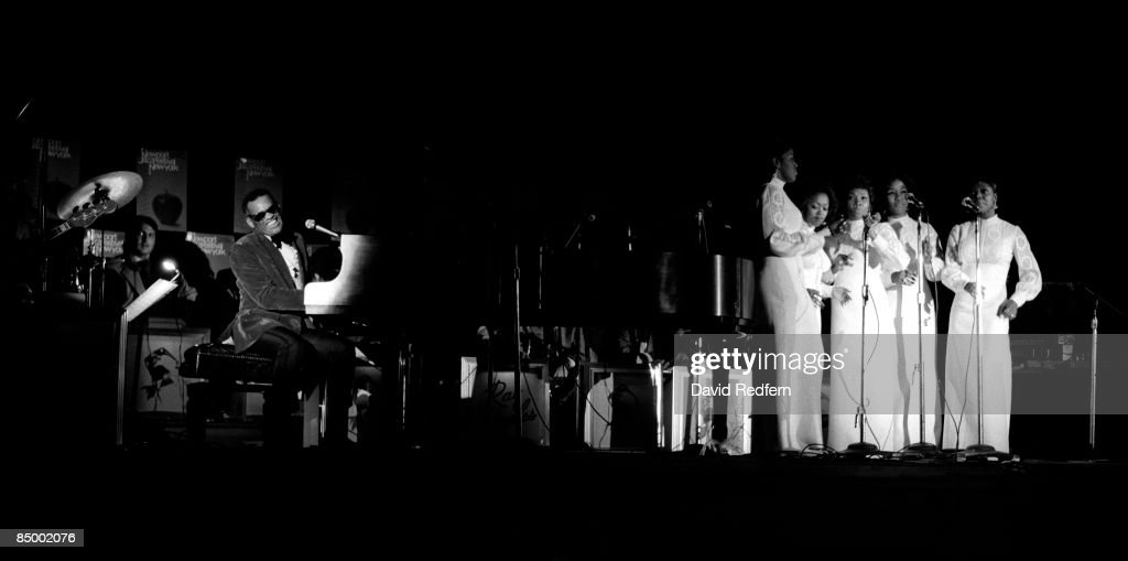 Ray Charles Live At 1972 Newport Jazz Festival : News Photo