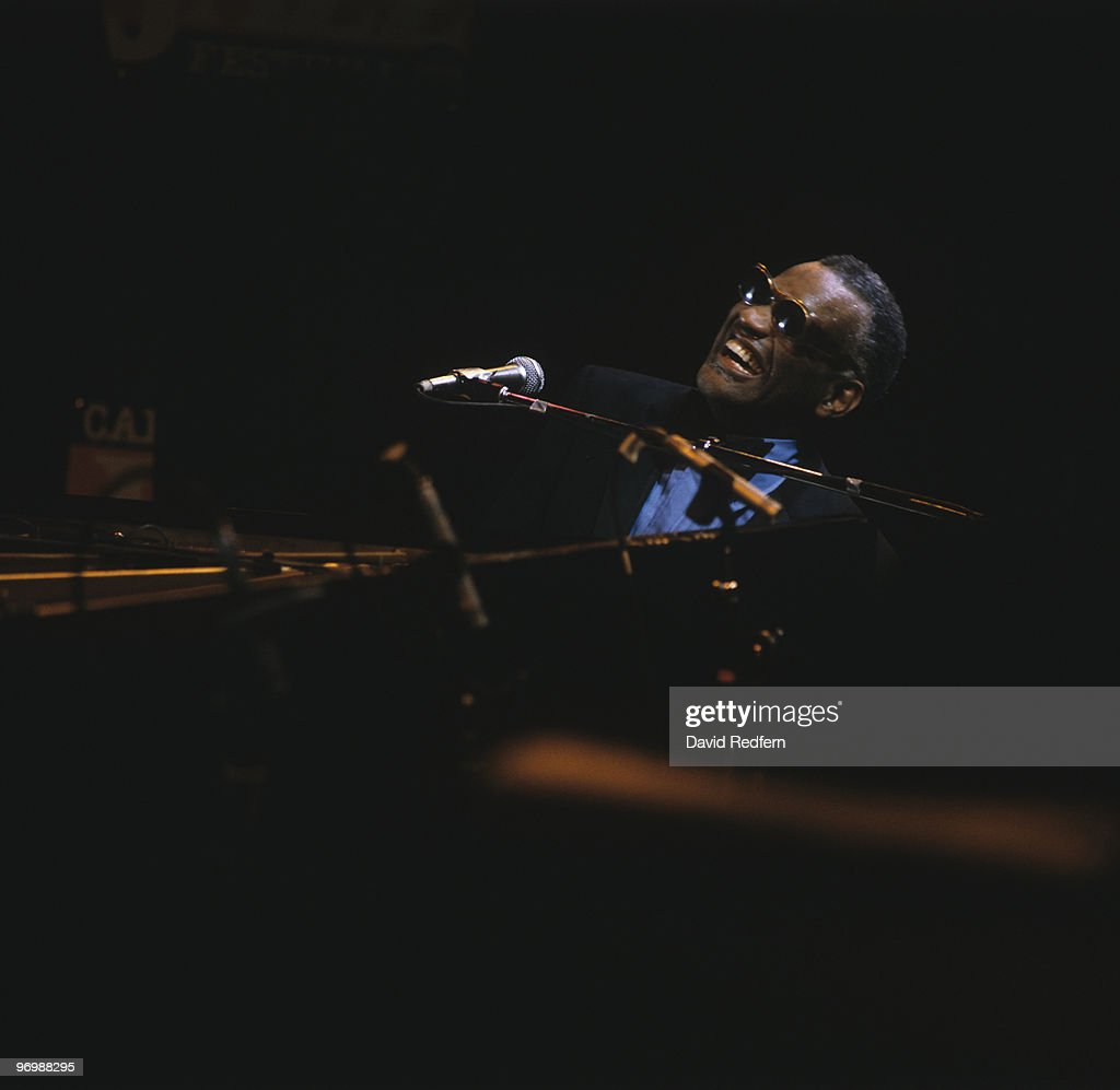 Ray Charles Live At 1982 Capital Jazz Festival : News Photo